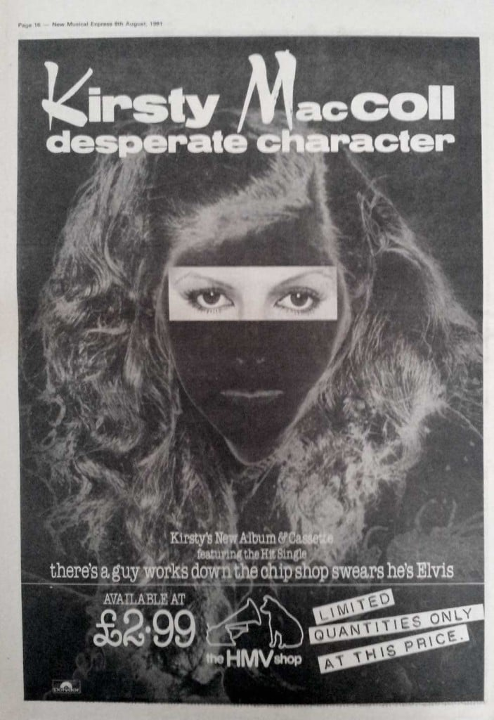 Desperate Character (1981) advert