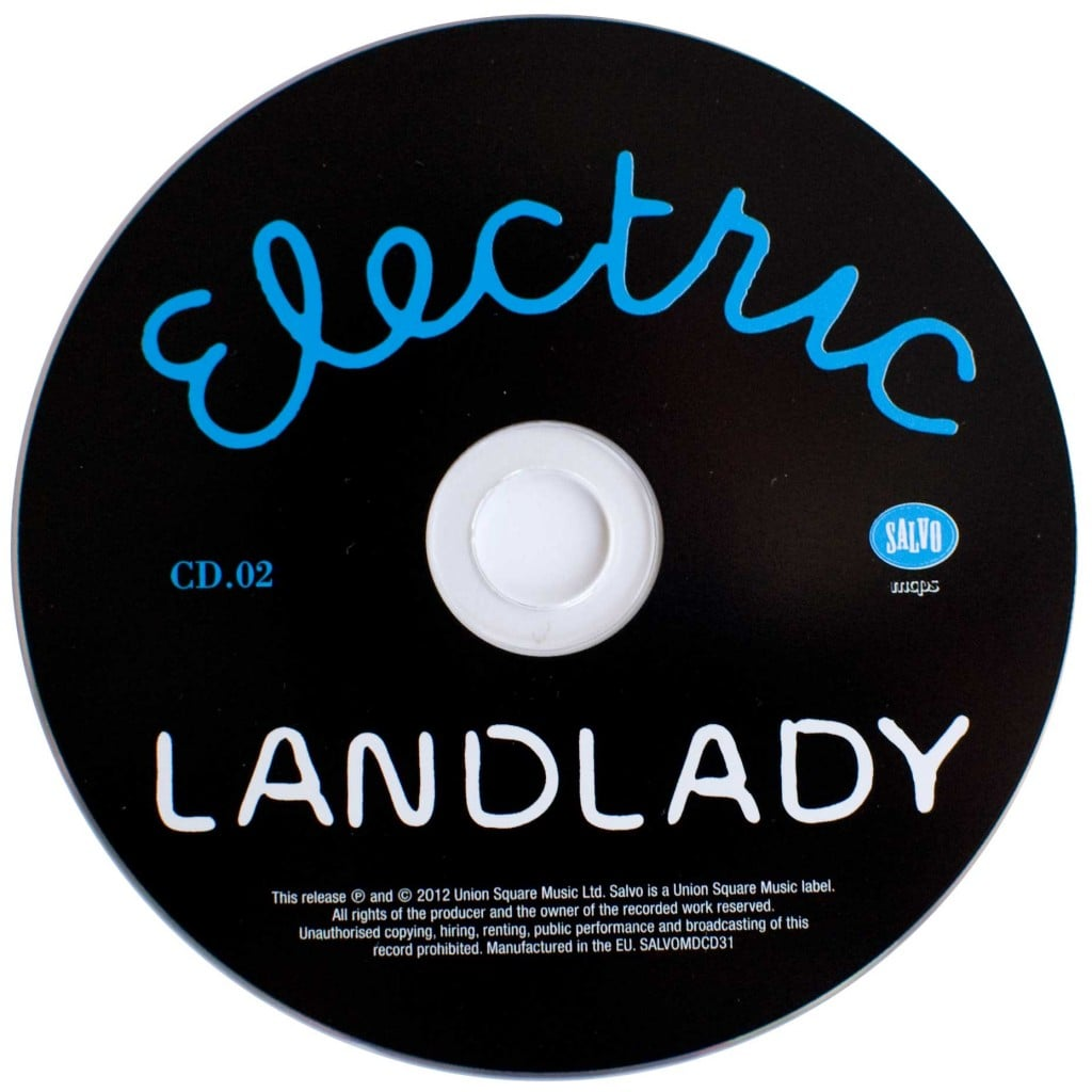 Electric Landlady (2012 CD) disc 2