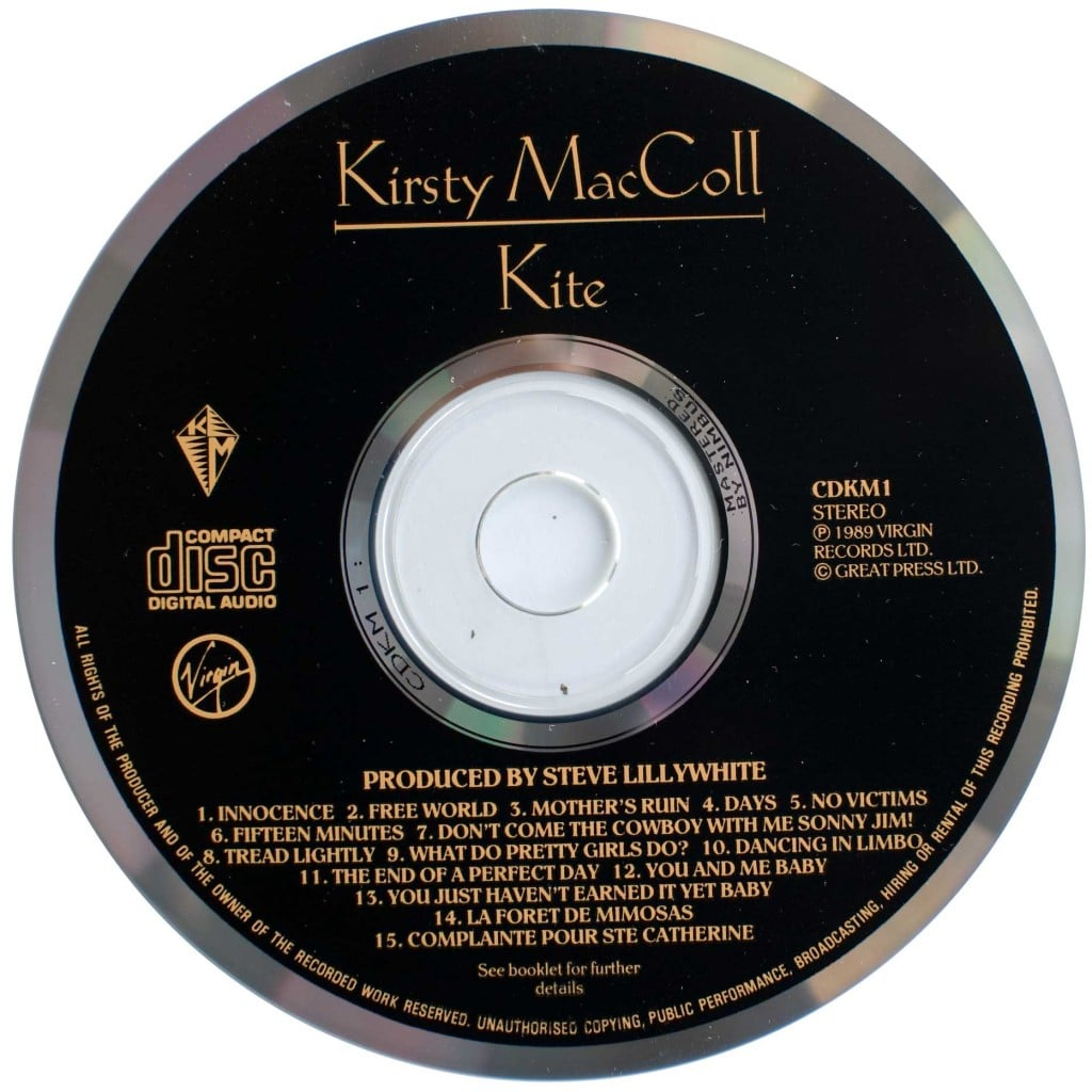Kite (1989 CD) disc
