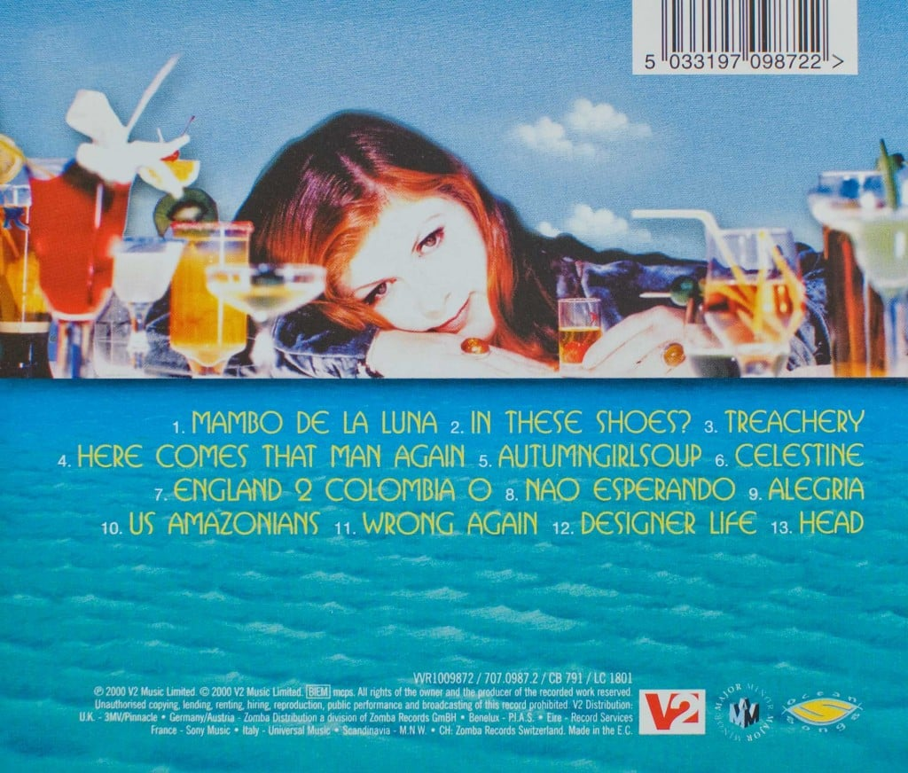 Tropical Brainstorm (CD) back cover
