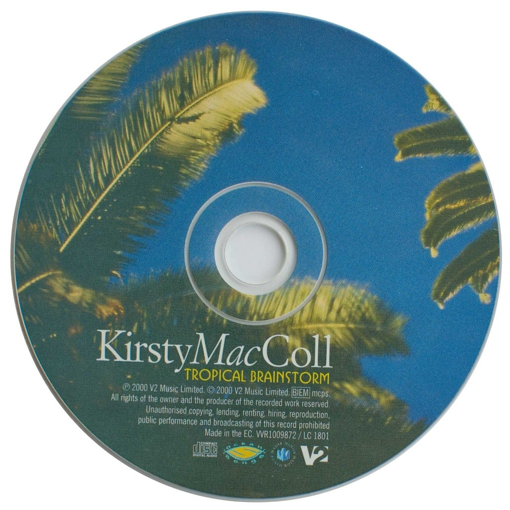 Tropical Brainstorm (CD) disc