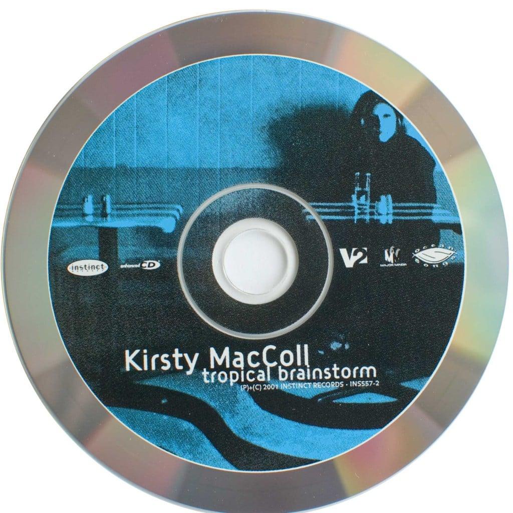 Tropical Brainstorm (US CD) disc