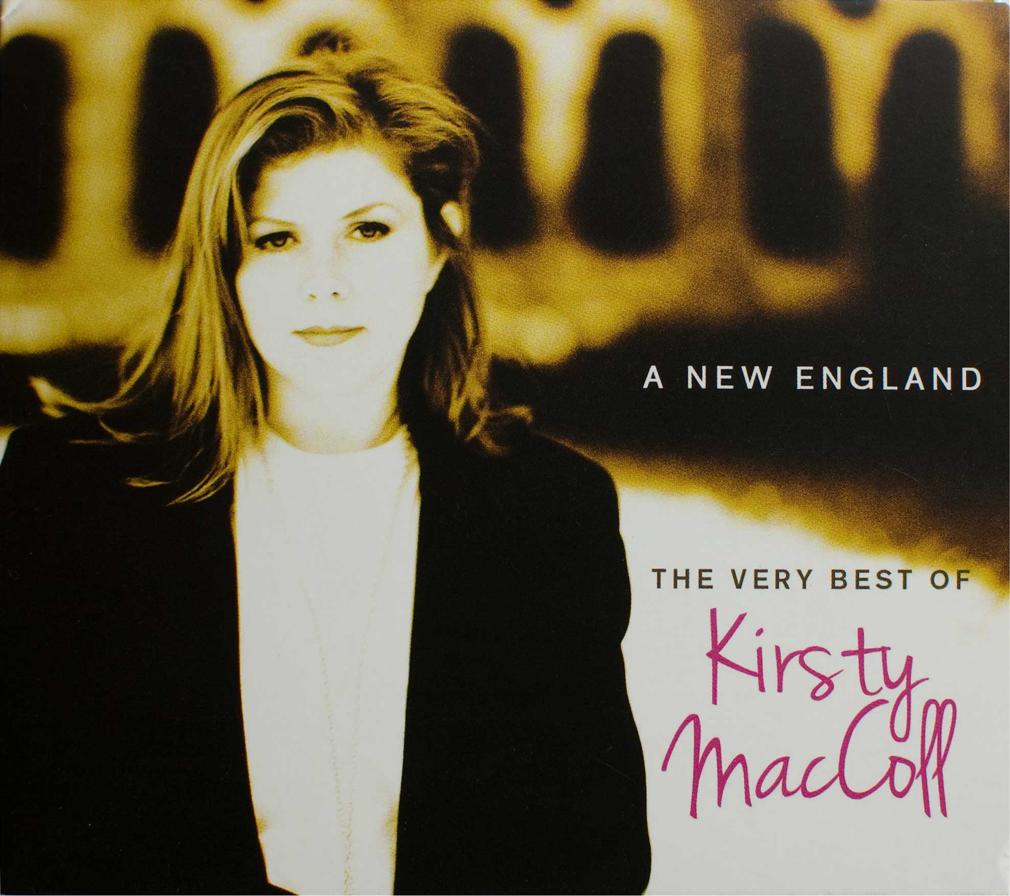A New England: The Very Best of Kirsty MacColl (Deluxe CD 2013) front cover