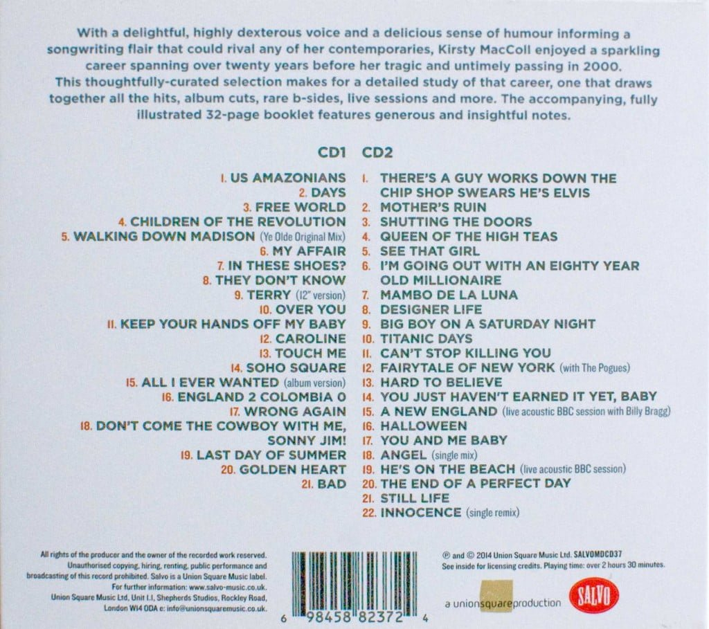 All I Ever Wanted - The Anthology (CD 2013) back cover