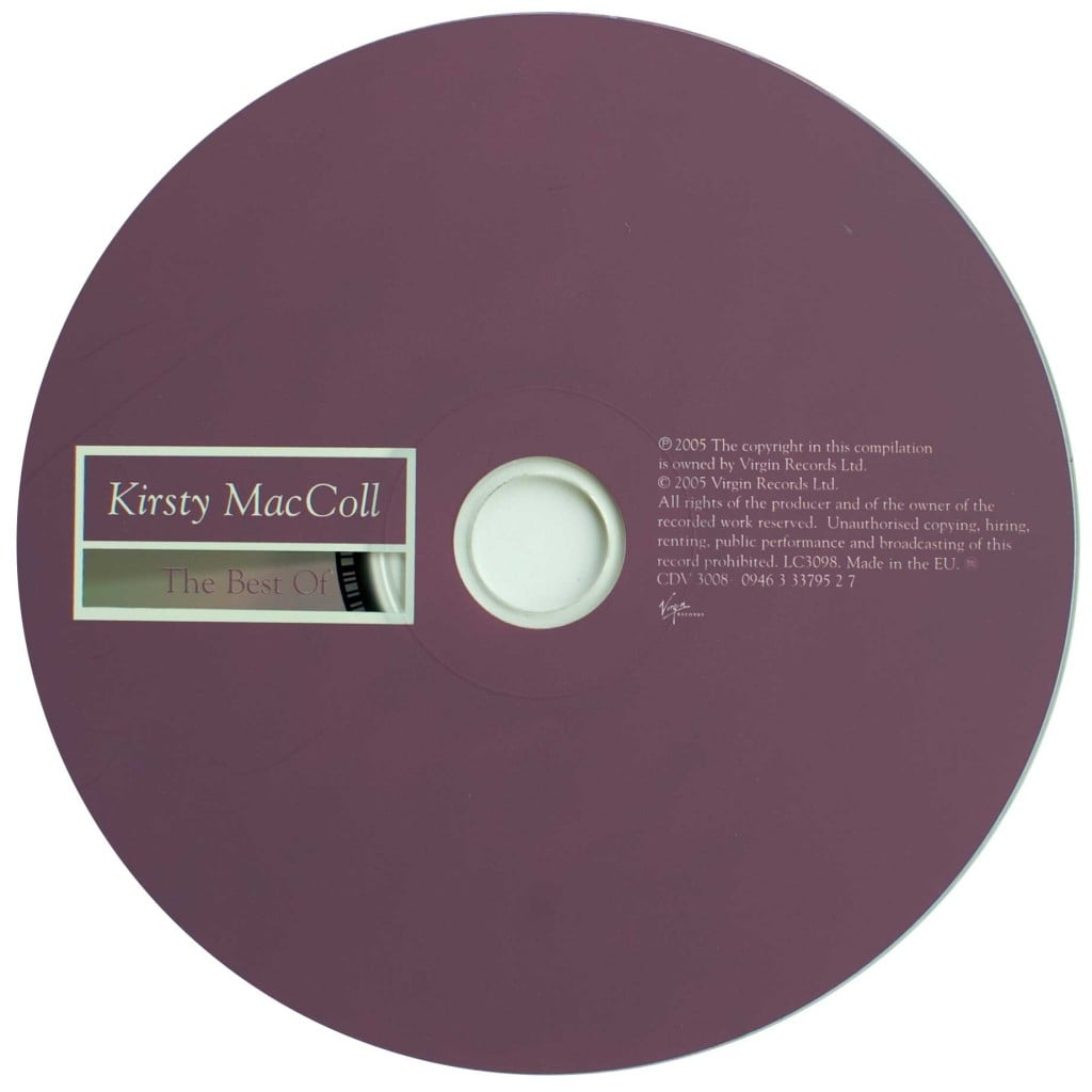 The Best of Kirsty MacColl (2005 CD) disc