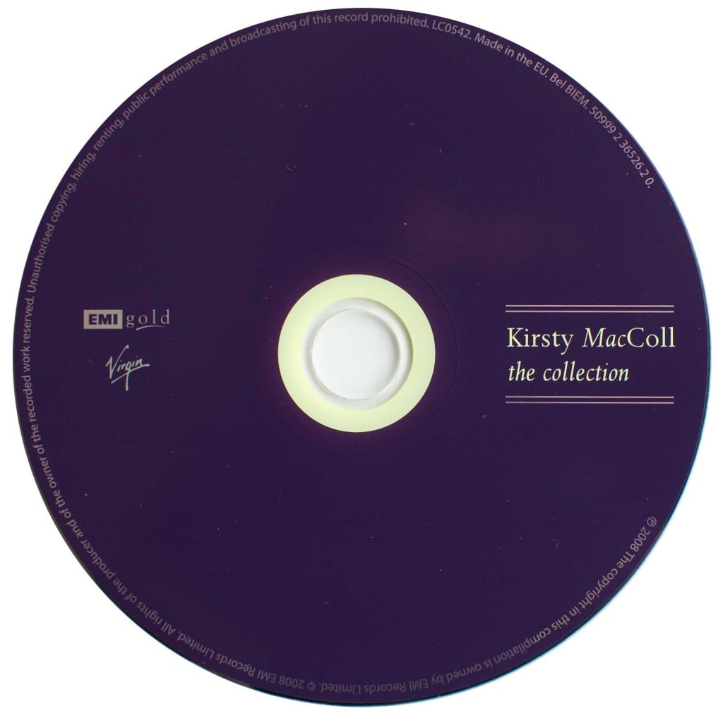 The Collection (2008 CD) disc