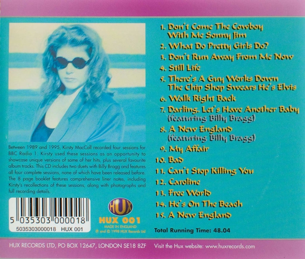 What Do Pretty Girls Do? (1998 CD) back cover