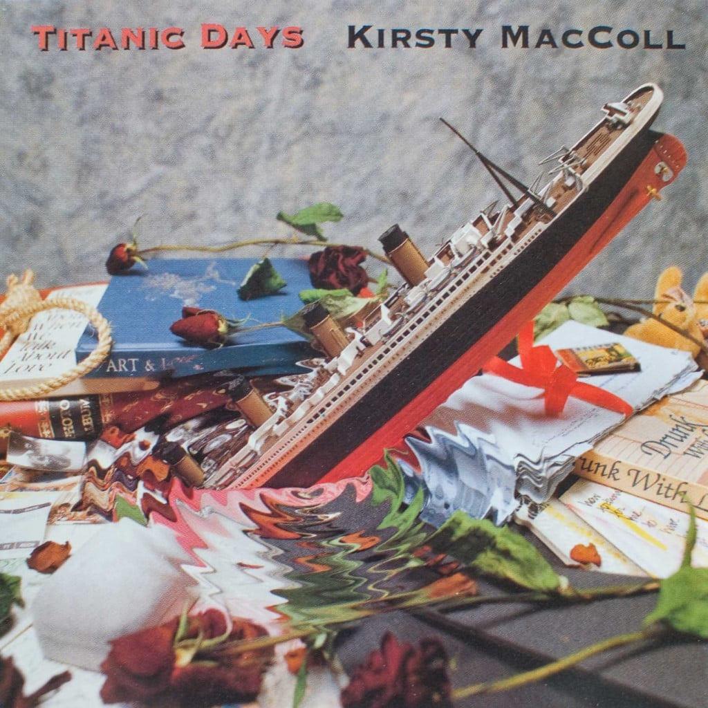 Titanic Days CD single (US) front cover