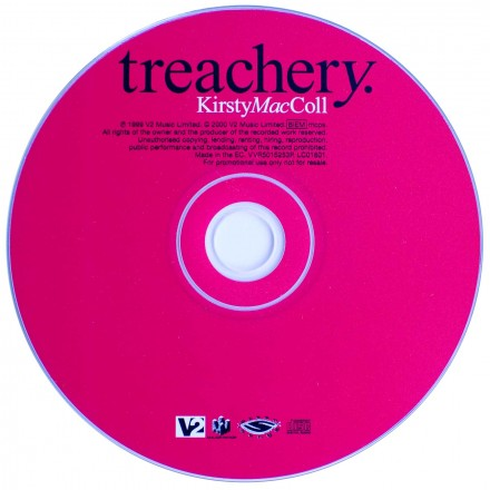 Treachery (CD promo) disc
