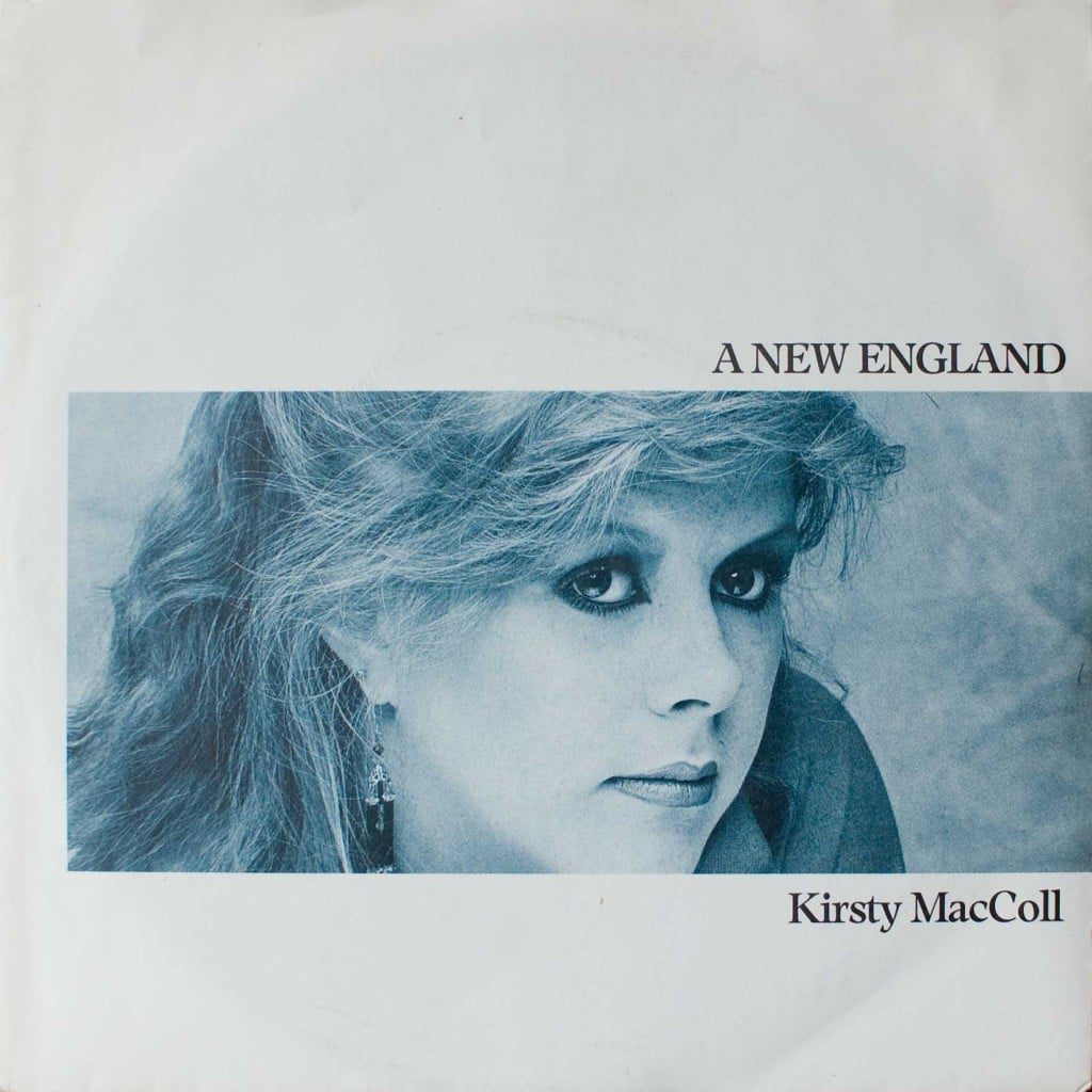 A New England 7' single, front cover