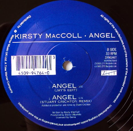 "Angel (12"" single) B side"