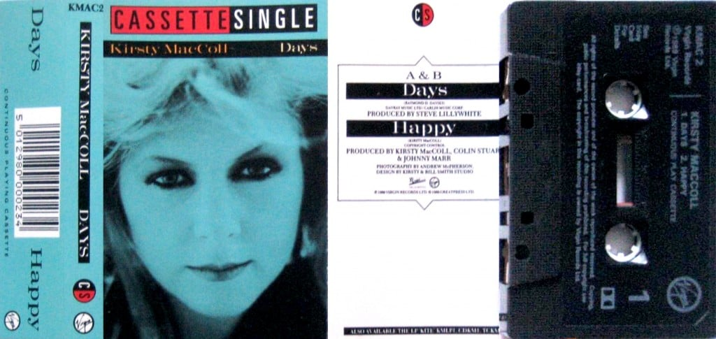 Days, cassette single