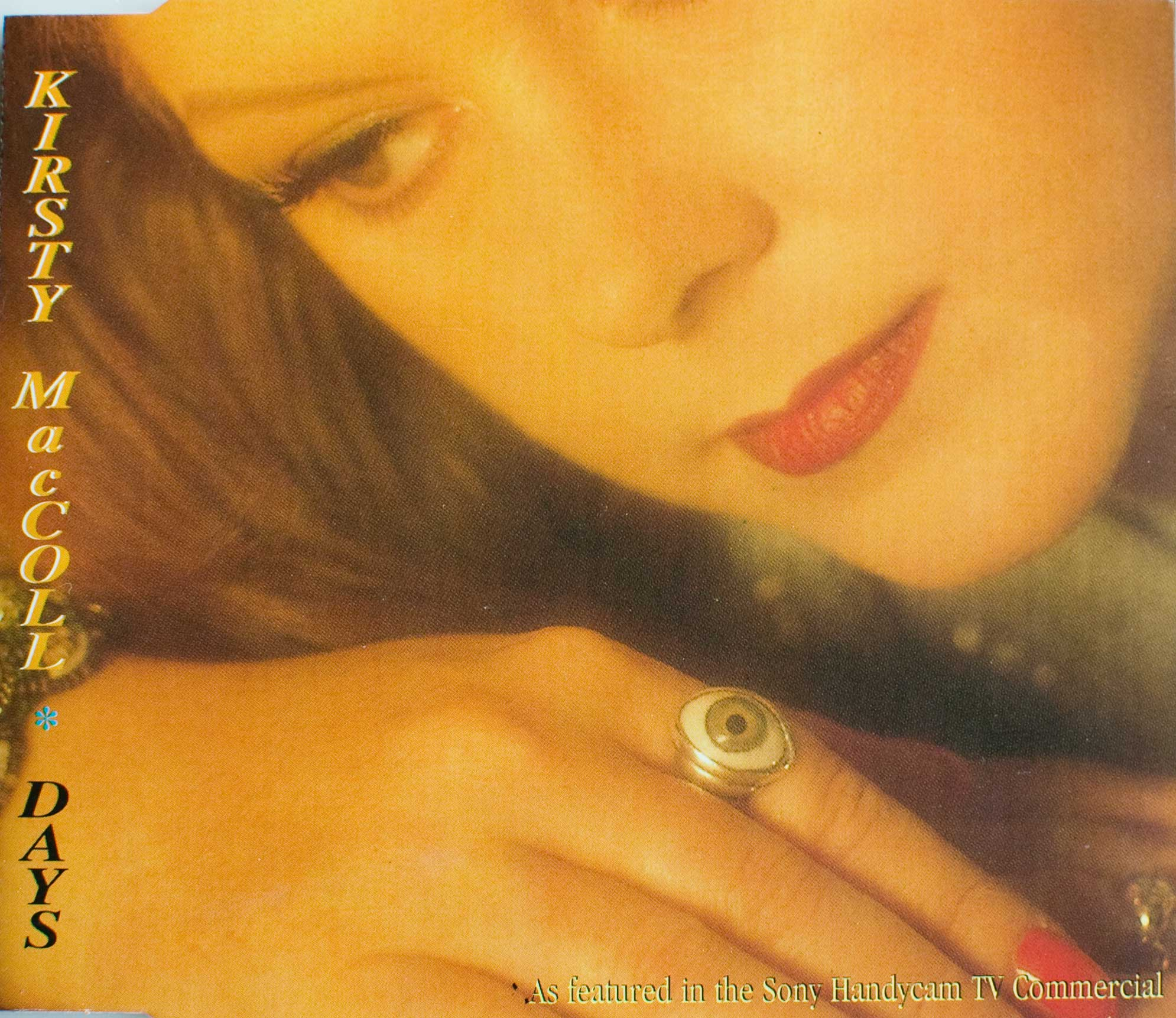 Days (CD 1995 reissue) front cover