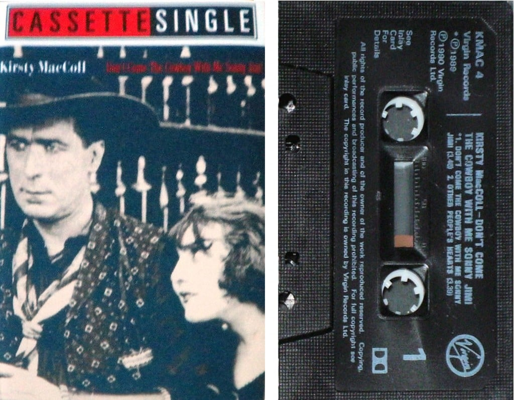 Cowboy, cassette single