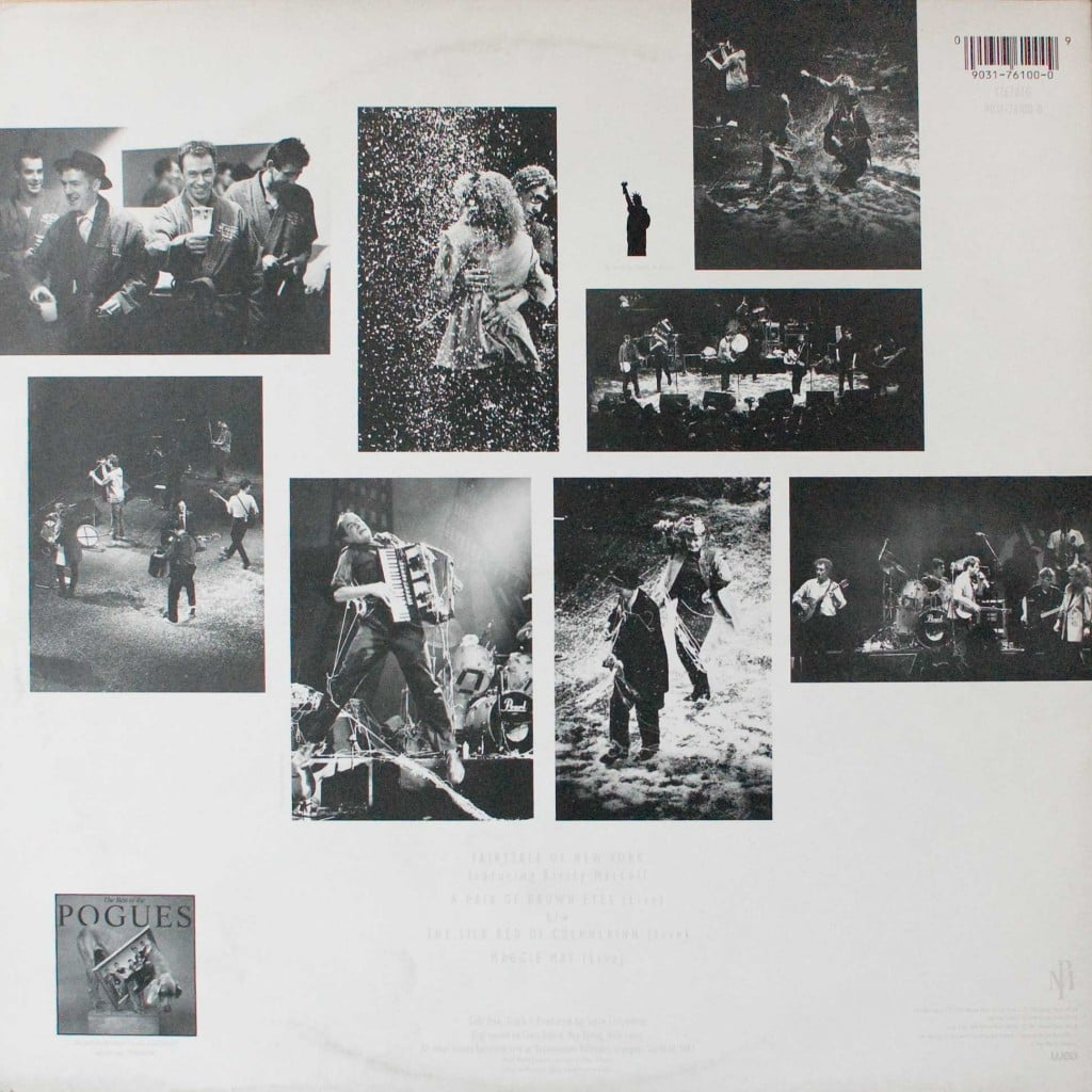 "Fairytale of New York (12"" 1991) back cover"