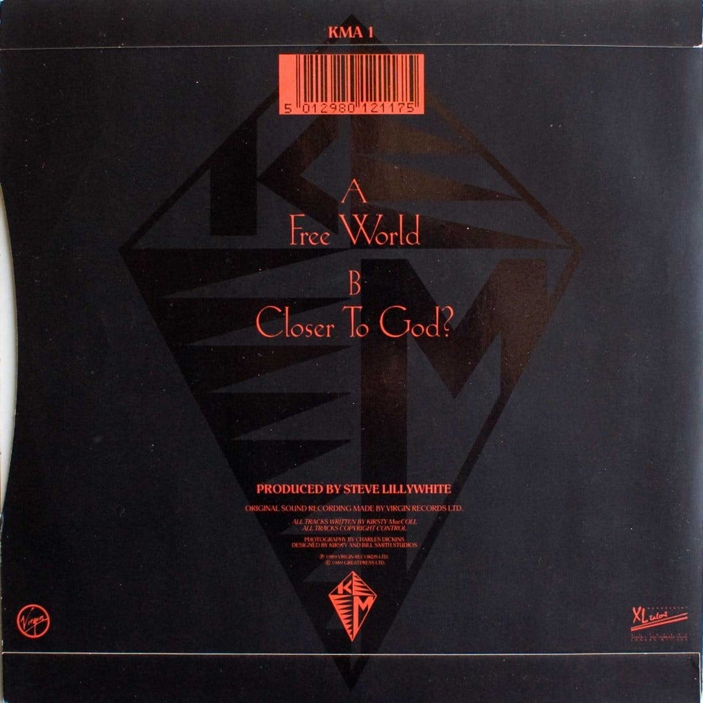 "Free World (7"") front cover"