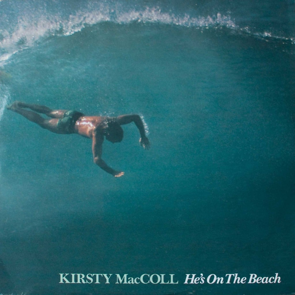 "He's on the Beach (12"" single) front cover"