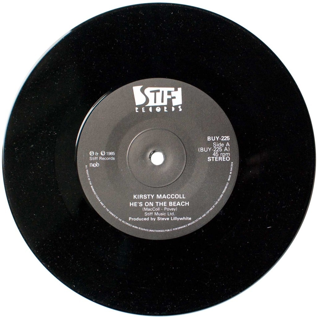 "He's on the Beach (7"" single) A side"