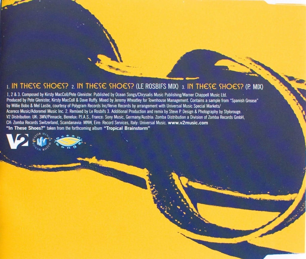 In These Shoes? (CD single 2) back cover