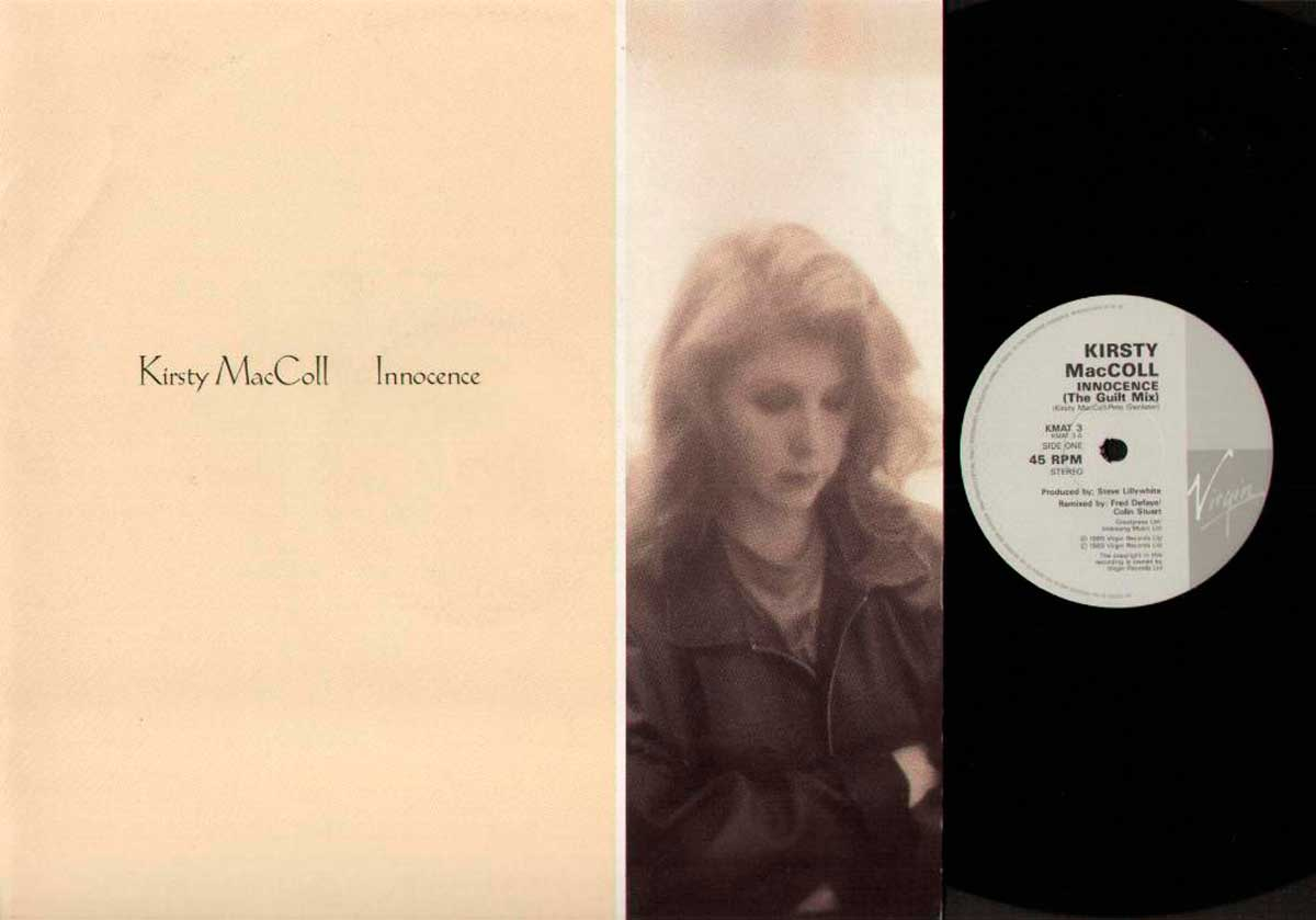 """Innocence (12"""") front cover and A side"""