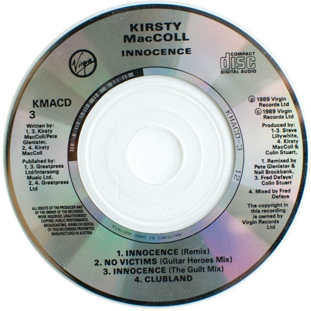 Innocence (CD single) disc