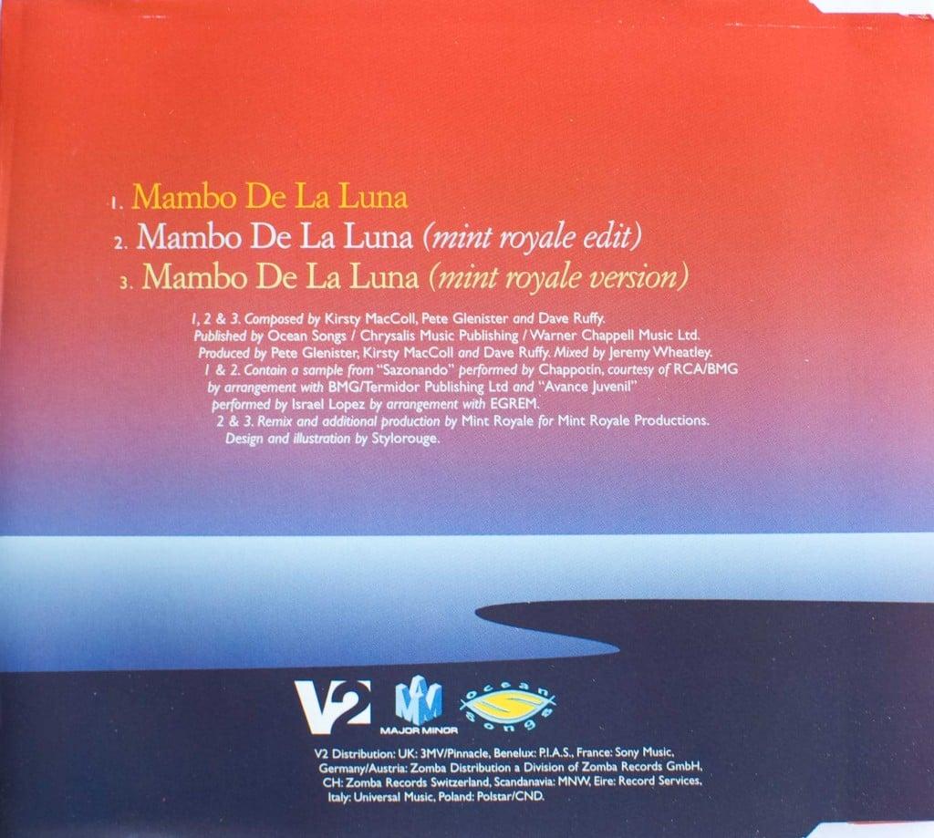 Mambo de la Luna (CD single 2) back cover