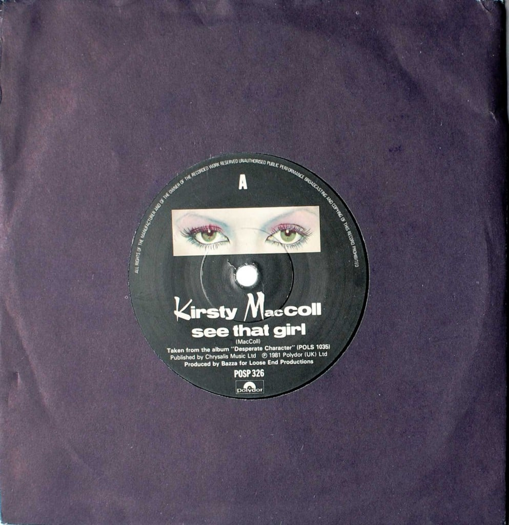 "See That Girl (7"" single) front cover"