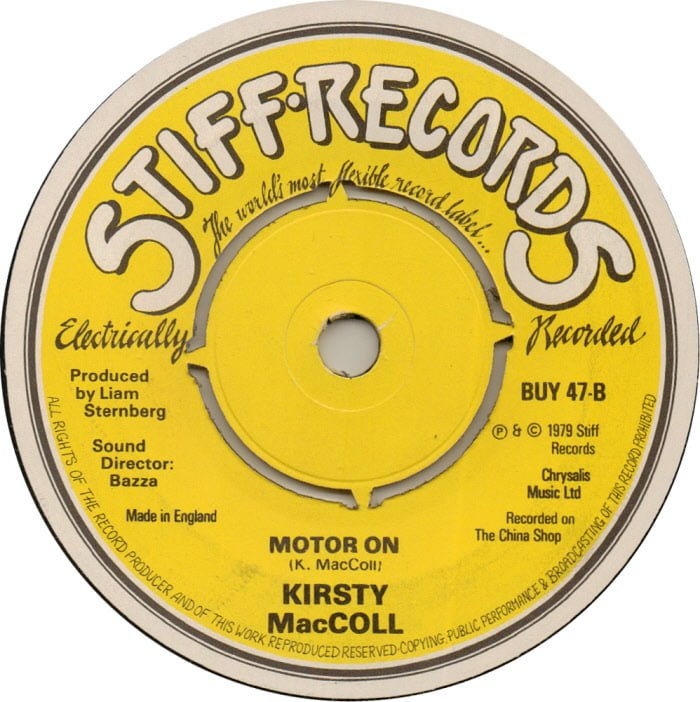Motor On (alternative label for B side)