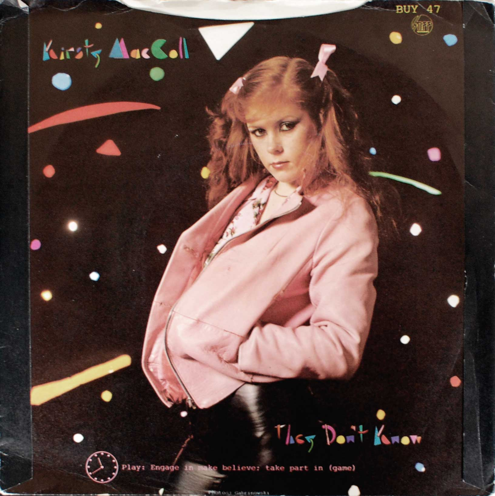 They Don't Know - picture sleeve b side