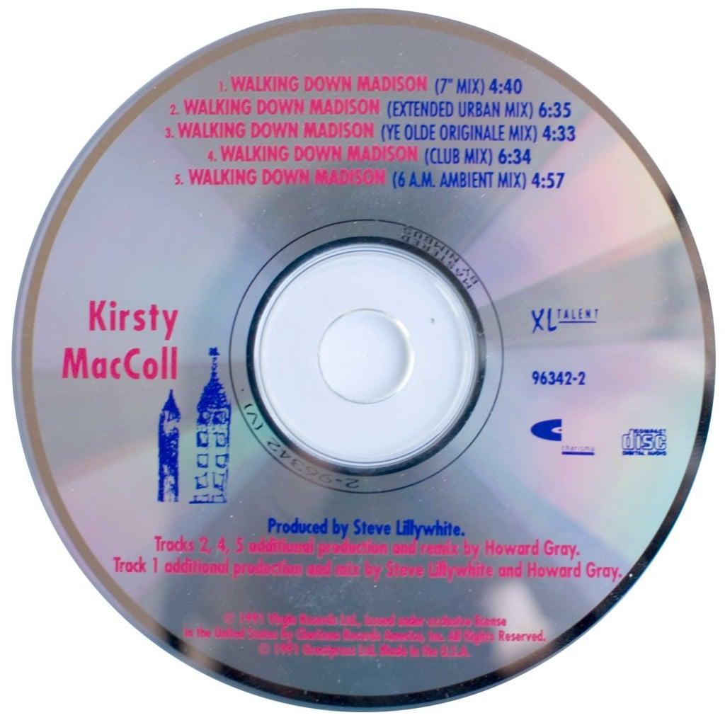 Walking Down Madison (US CD single) disc