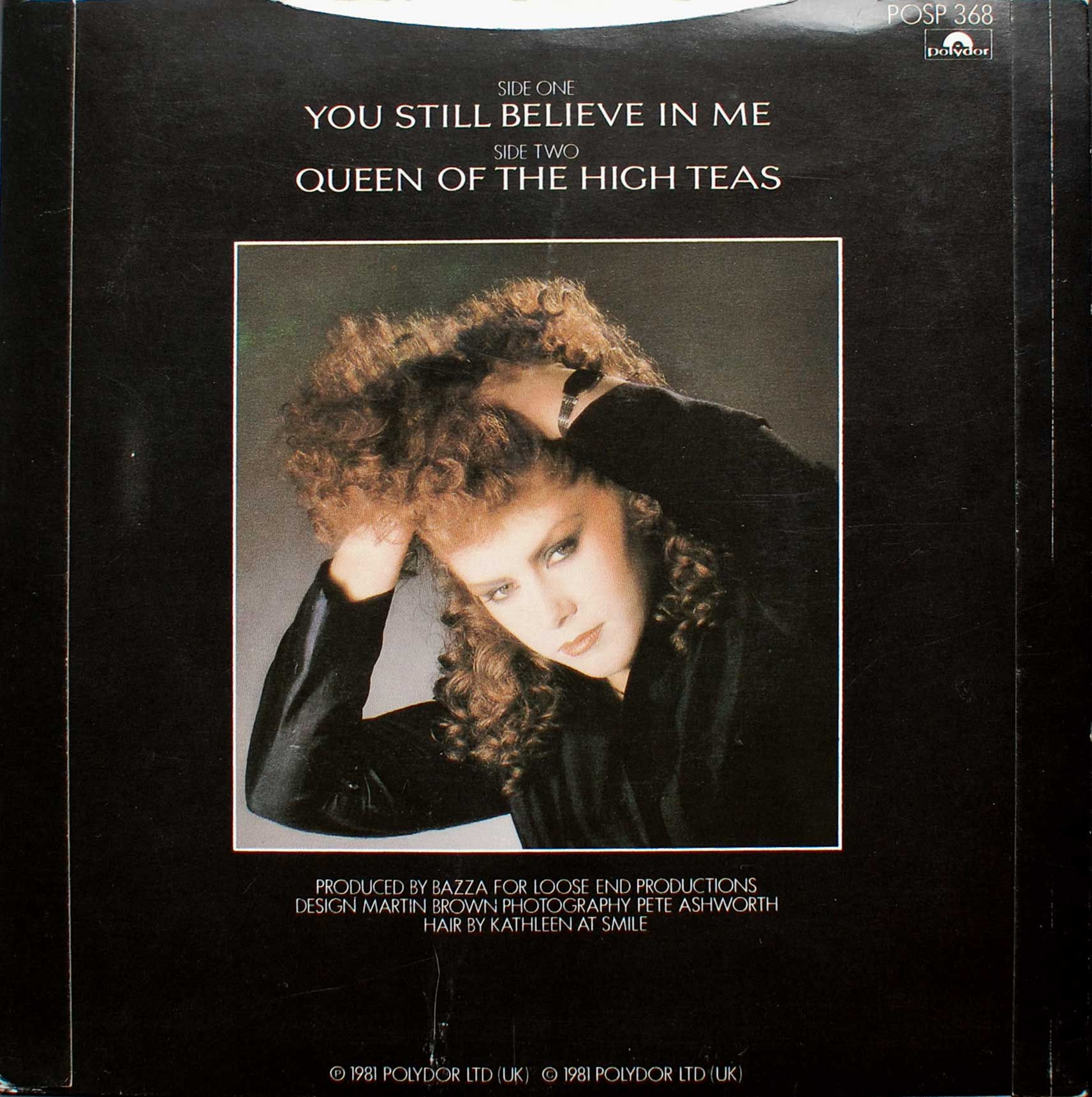 You Still Believe in Me (picture sleeve, B side)