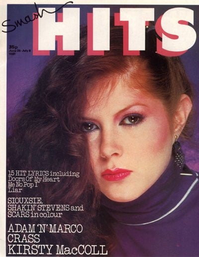 The cover of Smash Hits, 1981