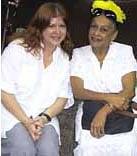 Kirsty and Omara