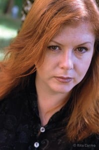 Kirsty MacColl in 2000, by Rita Carmo